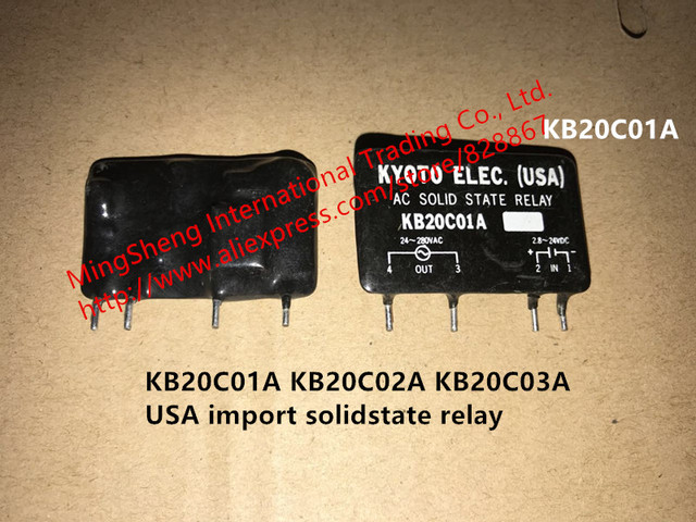 Original USA import KB20C01A KB20C02A KB20C03A solidstate relay quality assurance