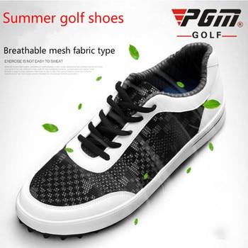 Summer Models PGM Golf Men's Shoes Super Men Breathable Net Cloth Sneakers Mesh Shoes Soft Ventilation Pgm Sports Shoes for Male