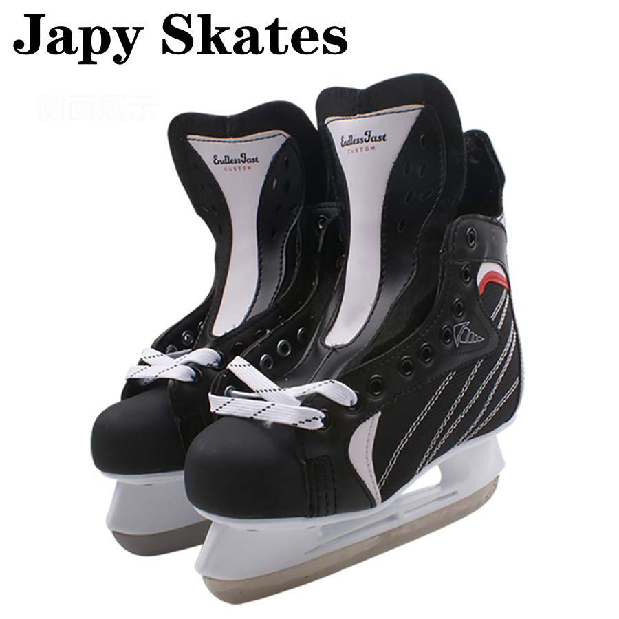 Japy Skate CTC Ice Hockey Shoes Adult Child Ice Skates Professional Ball Knife Ice Hockey Knife Shoes Real Ice Skates magideal ice hockey helmet soft eva liner with cage for player hockey face shield xs s m l xl