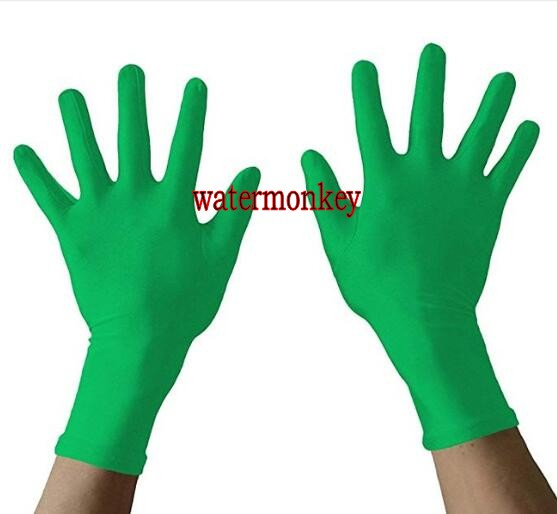 Watermonkey Spring Autumn Army green camouflage Adult Lycra Spandex Gloves High Elastic Gloves Driving Hand guards Dance Glove