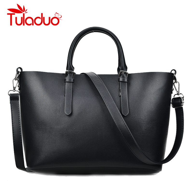 Women Shoulder Bag Ladies Leather Large Handbags Famous Brand Designer Female High Quality Totes Bags Solid Color bolsa feminina