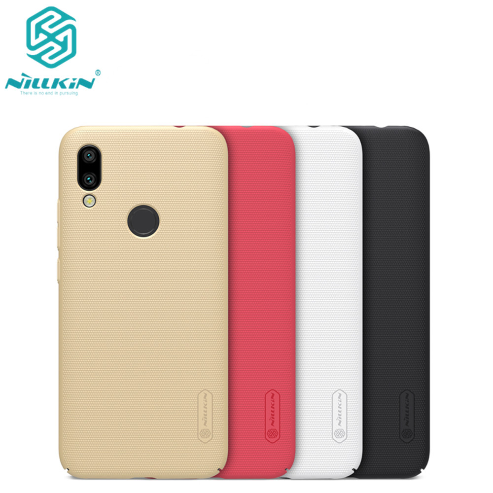 10pcs Nillkin Super Frosted Shield Case For Xiaomi Redmi 7 PC Hard Back Cover Case For