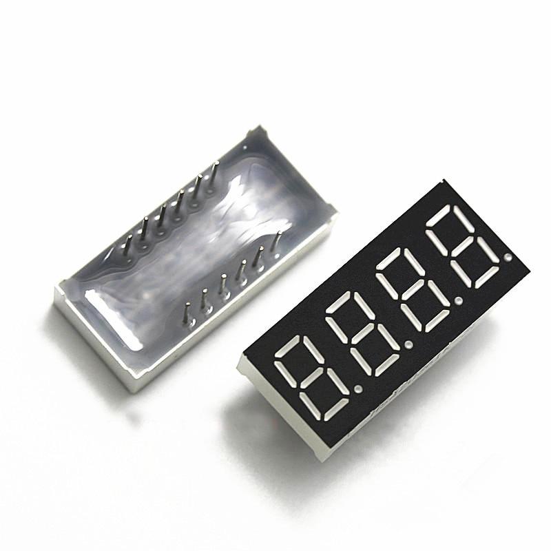 Free Shipping 3461 100pcs/lot 0.36inch 3461 4 Bits LED Common Cathode 4 Digital Tube 3461
