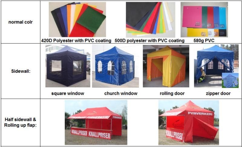 Decorative Awning Tent Top Printing
