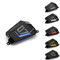 MT07 FZ07 Coolant Recovery Tank Shielding Cover For Yamaha MT 07 FZ 07 MT 07 FZ