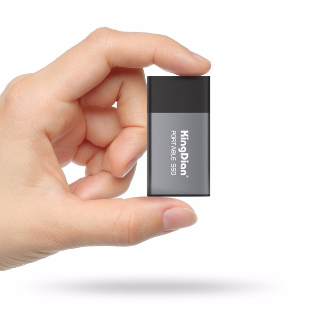 KingDian Newest item Portable SSD USB 3.0  120GB 240GB 500GB External  Solid State Drive Best gift for businessmen 1