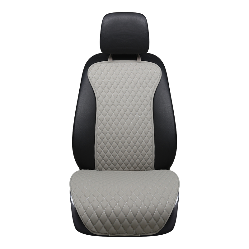 2019 Pu Leather Universal Easy Install Car Seat Cushion Stay On Seats Non-slide Auto Covers Not Moves Automotive Seat Pads