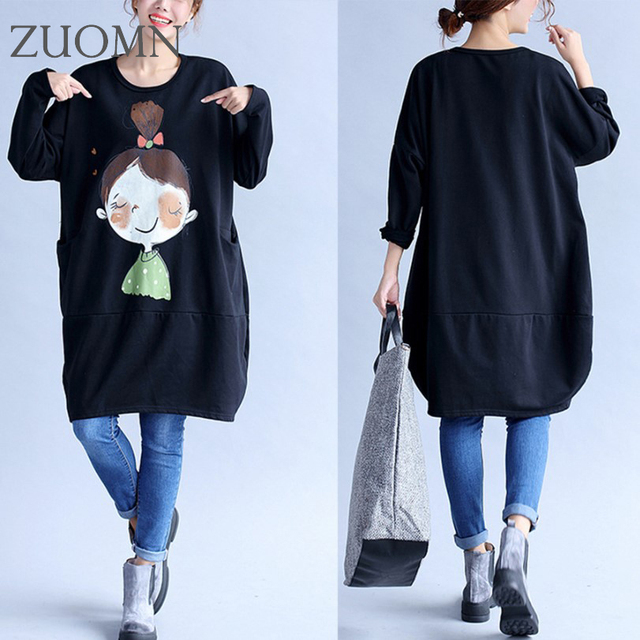 Plus Size Loose Maternity Dress Thick Warm Maternity Clothes Loose Dressesfor Women Pregnancy Clothing Fat Women Shirts YL316
