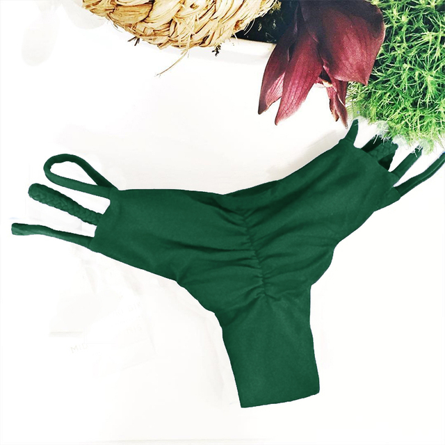 898158da5d7d3 2018 New Sexy Women Ladies Mini Bikini Bottoms Beach Swimwear Panty  G-string Thong Sexy