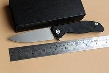 Green thorn Hati 95 folding knife ball bearing s35vn D2 Titanium G10 carbon fiber pocket outdoor camping hunting fruit EDC tools