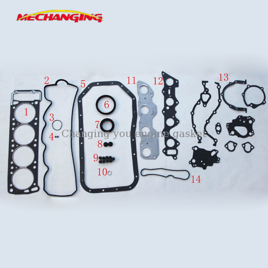For Toyota Corona 5af 5a-f Full Gasket Set Engine Rebuilding Kits Automotive Spare Parts Engine Seal Overhaul Gasket 04111-15082 Traveling Back To Search Resultshome