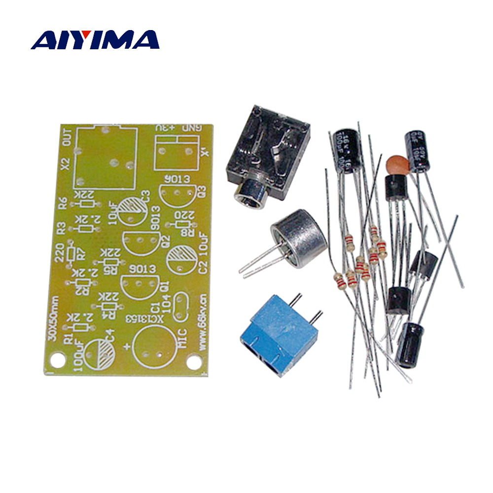 Aiyima Electret Microphone Amplifier Multistage Module Mic Booster Circuits Diagram Wiring Schema Headphone Out Diy Kits In From Consumer Electronics On Alibaba
