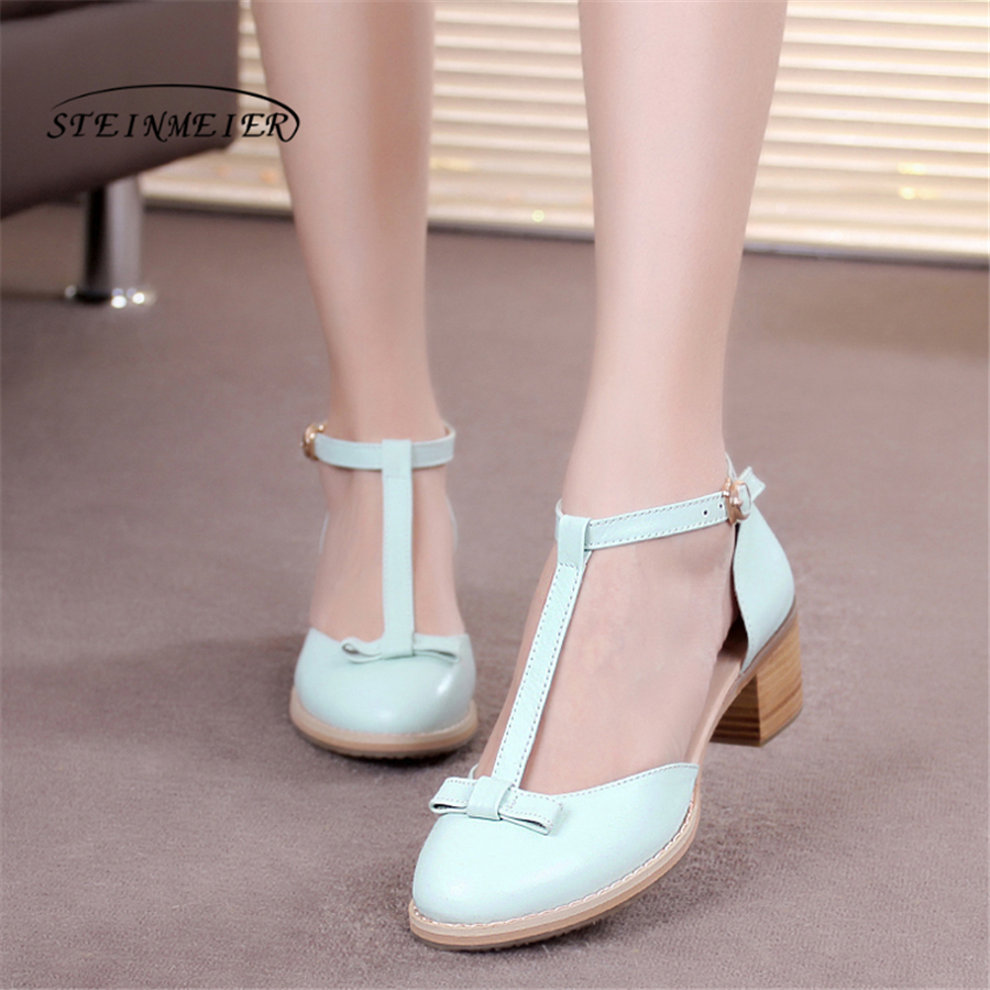Women sandals oxford shoes vintage genuine leather high heels gladiator oxfords summer platform sandals for women