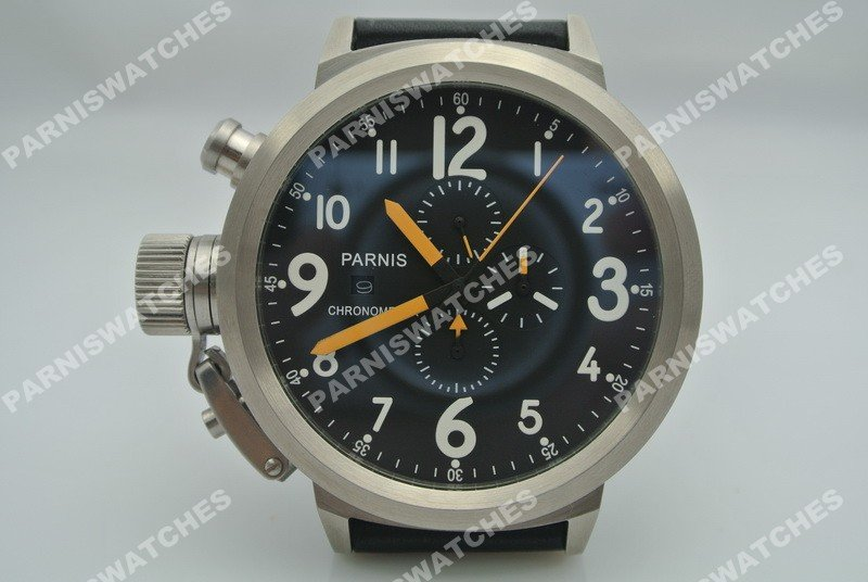 aliexpress com buy shipping parnis big face full aliexpress com buy shipping parnis big face full chronograph 50mm lefty watch whole from reliable watches suits suppliers on parnis whole