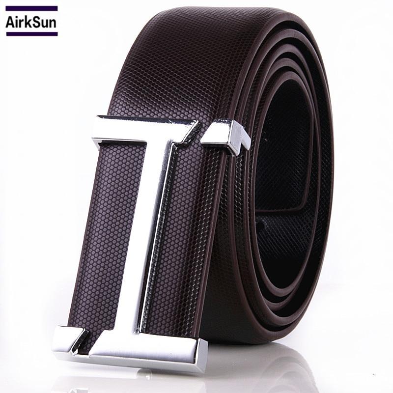 2017 H Designer Belts Men Of High Quality Men Leather Belt