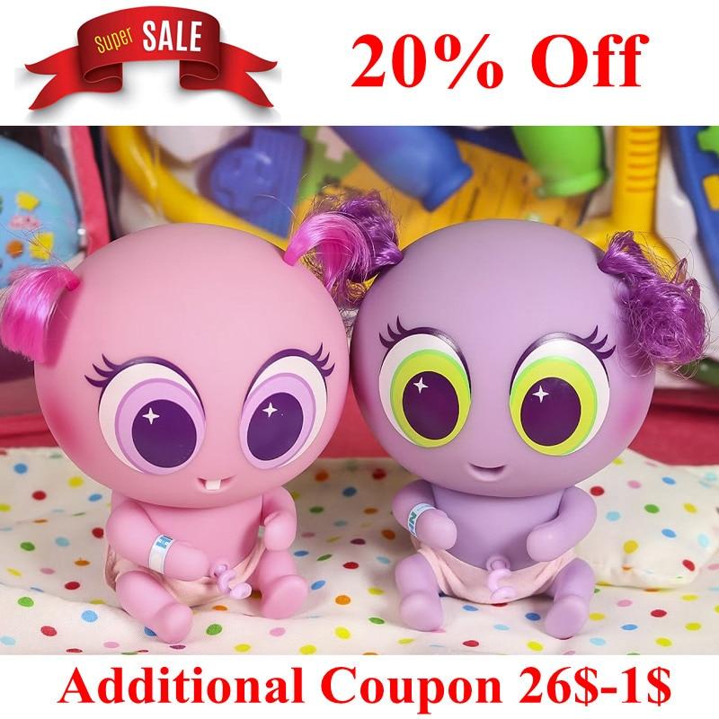 2019 Kids Toys Casimeritos Ksimeritos Juguetes With Neonate Nerlie Micro Kit Nerlie Neonate Babies Accessories Baby Dolls
