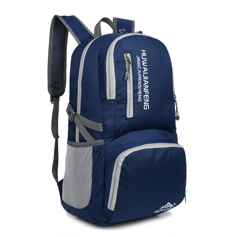 Waterproof Lightweight Nylon Foldable Weekend Travel Duffel Bag Folding Backpack Luggage Women Bag Men Carry On Traveling Bags цена