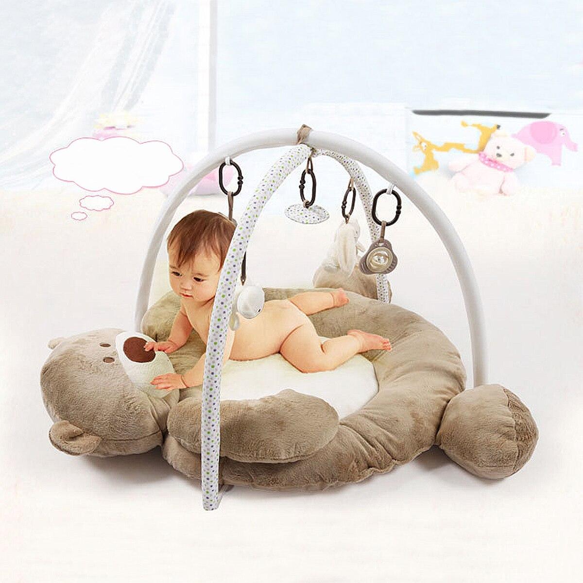 95x85x60 cm bébé tapis de jeu tapis développer ramper enfant musique tapis de sécurité dessin animé doux pour enfants jouet éducatif