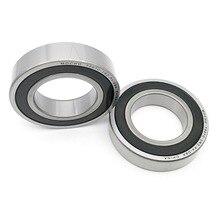 1 Pair MOCHU 7007 7007C 2RZ P4 DB 35x62x14 35x62x28 Sealed Angular Contact Bearings Speed Spindle Bearings CNC ABEC 7
