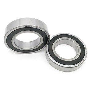 Image 1 - 1 Pair MOCHU 7007 7007C 2RZ P4 DB 35x62x14 35x62x28 Sealed Angular Contact Bearings Speed Spindle Bearings CNC ABEC 7