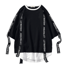 2020 Zomer Stijl Mannen T shirt Hip Hop O Hals Korte Mouw Casual Lint Decoratie Streetwear Top Tees Mannen ABZ362