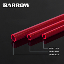2pcs/lot Barrow PETG Hard Tube ID8mm/OD12mm - ID10mm/OD14mm -ID12mm/OD16mm Length 50cm PETG Tube/water cooling cooler block tube barrow hard tube bending tool abs steel plate support hard tubing 12 14 16mm abqyg 16a