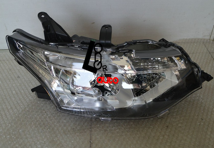 car styling Headlights for MITSUBISHI Outlander 2014 Front Head lamps