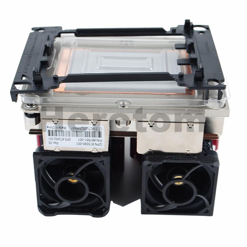 New HP DL360 DL360p G10 Heatsink 873590-001,872452-001,867651-001