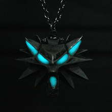 Game Of Thrones Wild Wolf luminous Necklace