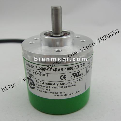 EC40A6-P4RAR-1000.T201 Elco ELCO codificador rotatorio de 1000 líneas verdadero eje 6mm