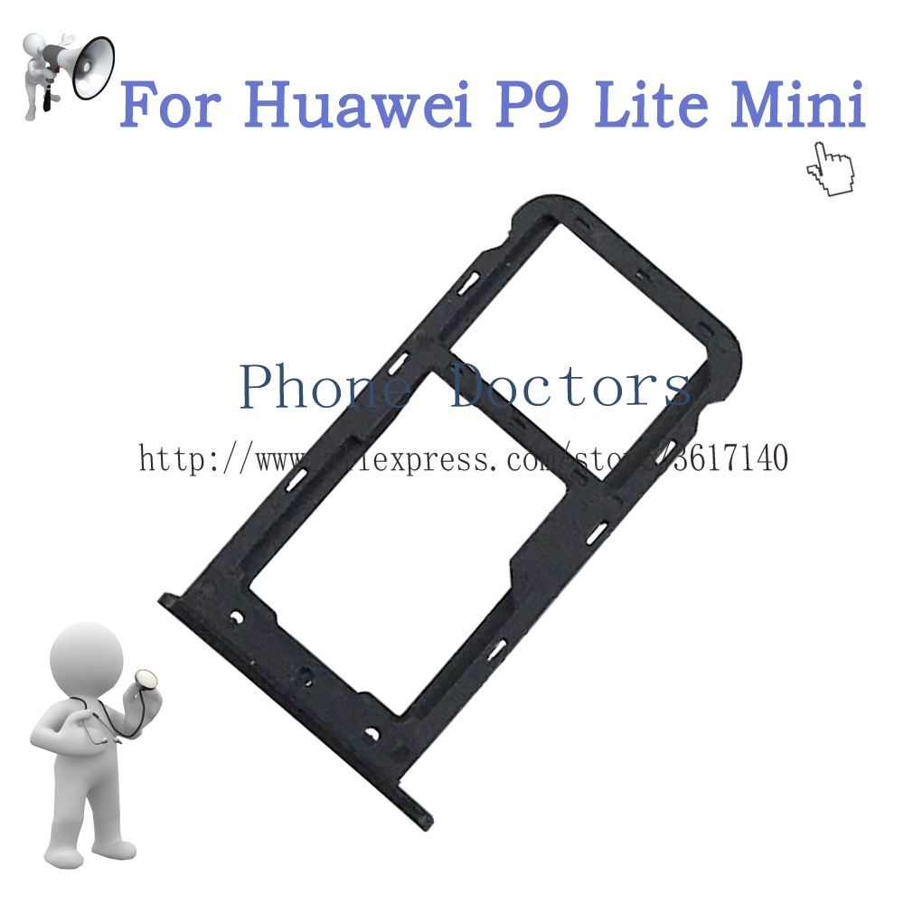 carte sd huawei p8 lite 2020 For Huawei P9 Lite Mini Sim Card Tray Micro SD Card Holder Slot