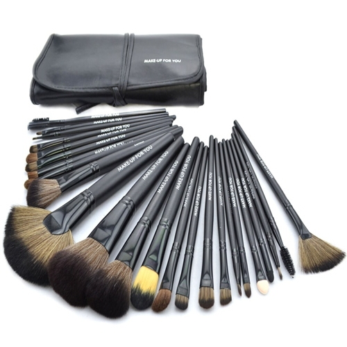 Black Makeup Brushes Set & Kits Professional 24 pcs 24pcs Makeup Brush Set Makeup Tools Cosmetics Facial Brushes For Makeup