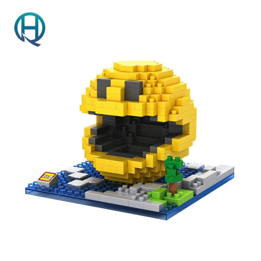 Mini Nano Blocks Pac Man LOZ Building Blocks Figures Diamond Blocks Compatible Legoelieds Toys 9617