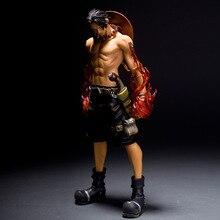 Anime 원피스 에이스 화재 주먹 싸우는 액션 피규어 Juguetes 원피스 Portgas D 에이스 Figura Collectible Model Toys Brinquedos