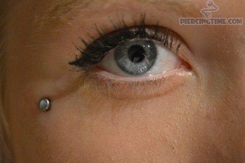 G23titan Crystal Dermal Anchor Titanium Piercing Eyebrow Ring Internally Threaded Dermal Anchor for Eyebrow Jewelry 3