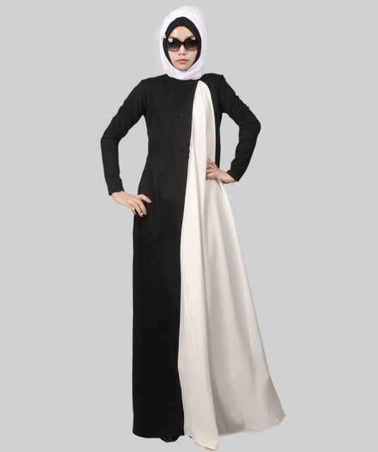 2016 New Arrival Islamic Muslim long dress for Women Malaysia abayas in  Dubai Turkish ladies clothing b69b3ce11d08