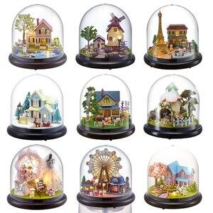 Doll Houses Casa Miniature DIY