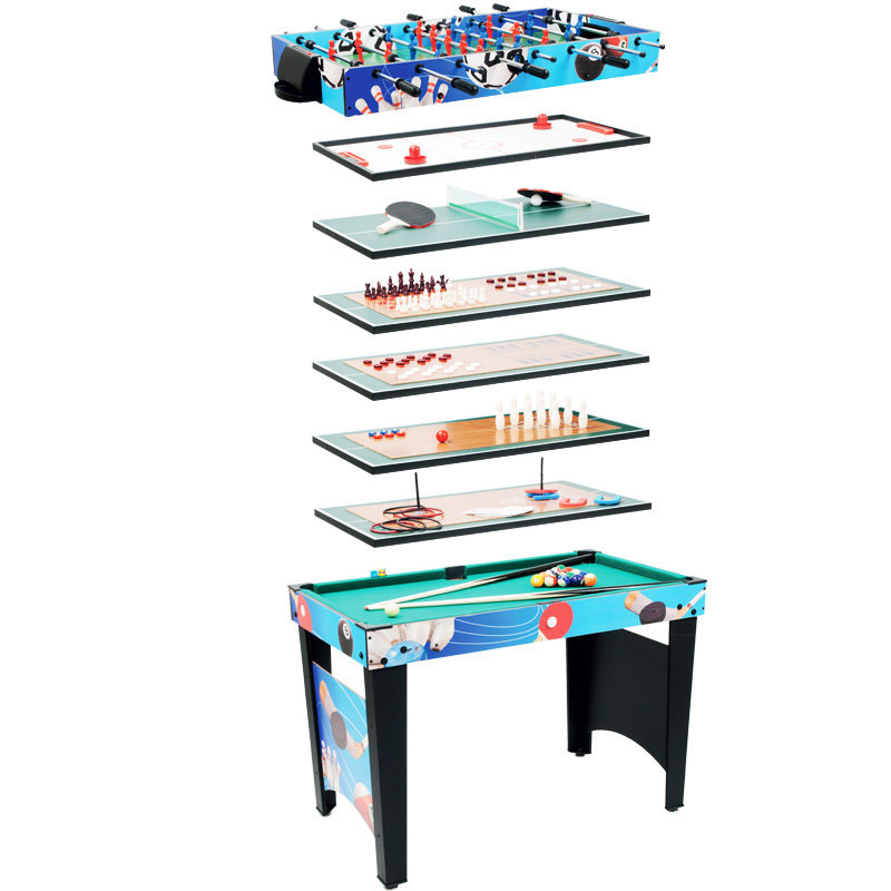 8 In 1 Foosball/Billiards/Ice Hockey/Table Tennis/bowling/Chess/Draughts Machine Snooker Football/Soccer Table Gift Bar PK Game