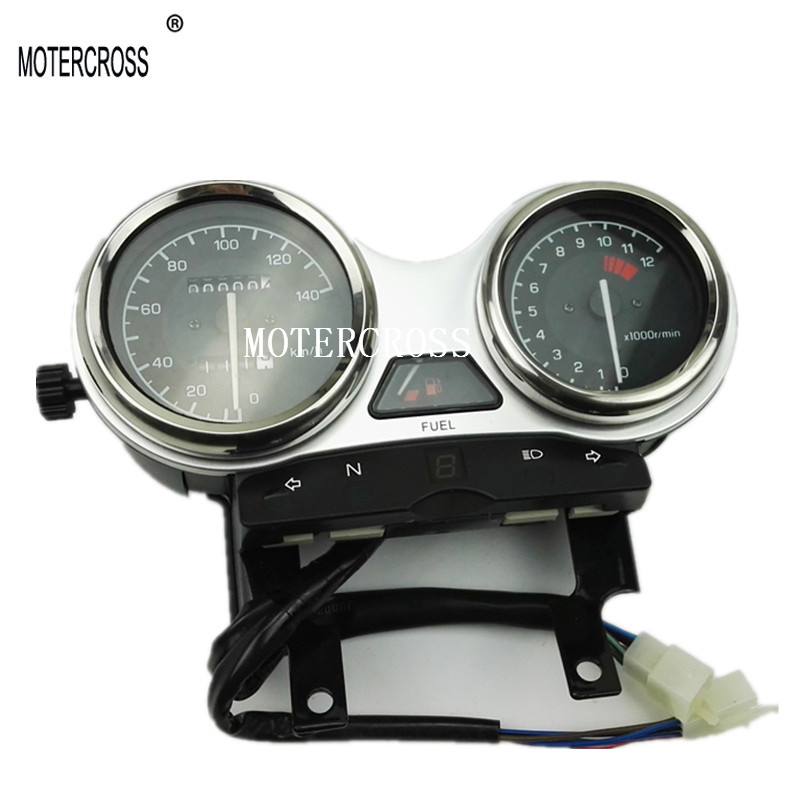 MOTERCROSS High Quality Motorcycle Instrument Speedometer Odometer Assembly QS125-5/GT125//GSX/GN125/GS125 motercross high quality motorcycle instrument speedometer odometer assembly qs125 5 gt125 gsx gn125 gs125