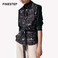 Для женщин Роскошные Блузка шелк 100 блузки для Для женщин Высокое качество шелк блузка без рукавов