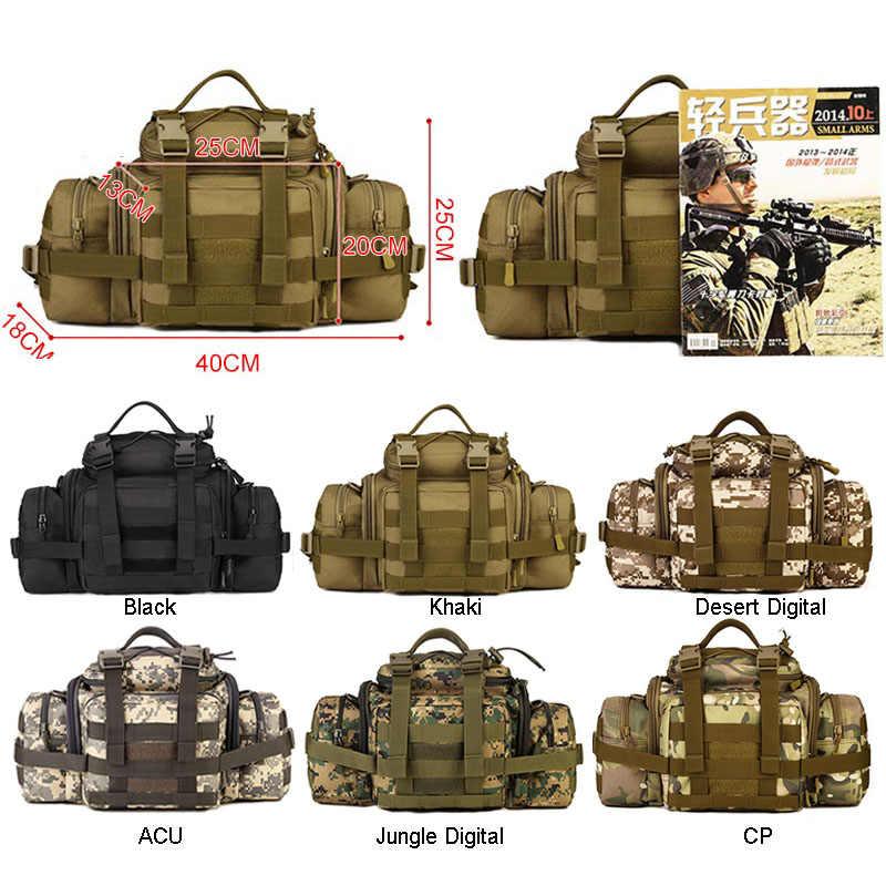 Molle militaire taille sacs caméras sac Fanny Pack ceinture tactiques grand cri assaut Camping Pack Sports de plein air caméra XA573WA