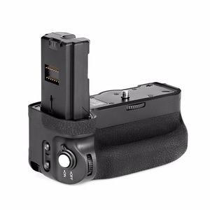 Image 5 - マイクス MK A9 Pro のバッテリーグリップ 2.4 のリモコンコントローラ垂直撮影機能ソニー A9 A7RIII A7III A7 III カメラ