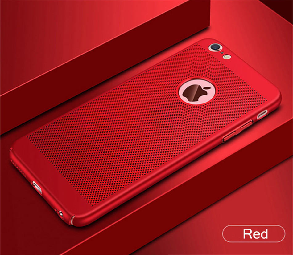 Heat dissipation iPhone Case - Hard Back PC Protect Shell 12