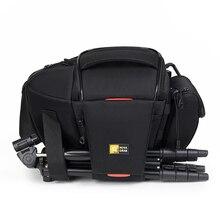 NOVAGEAR 80205 חדש נייד קטן נסיעות תיק מצלמה עמיד למים מזדמן כתף שקיות עבור Canon מיני מצלמה תיק עמיד הלם