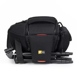 Image 1 - NOVAGEAR 80205 חדש נייד קטן נסיעות תיק מצלמה עמיד למים מזדמן כתף שקיות עבור Canon מיני מצלמה תיק עמיד הלם