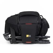 Novagear 80205 novo portátil pequeno saco da câmera de viagem à prova dwaterproof água sacos ombro casuais para canon mini saco da câmera à prova choque