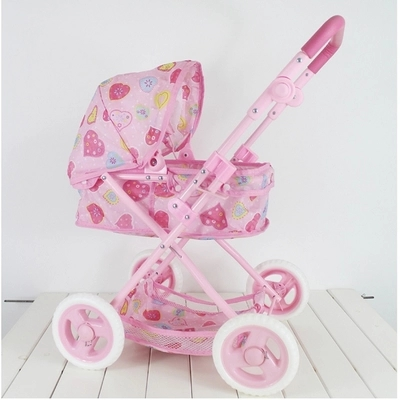 Baby strollers doll simulation play toy girl children toy cart of the girls children play simulation platen washing machine voice electric toy gift boy girls