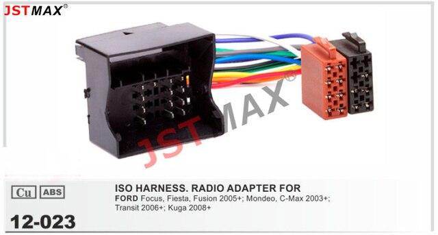 JSTMAX ISO Radio stecker für Ford Focus Fiesta Fusion Mondeo C max ...