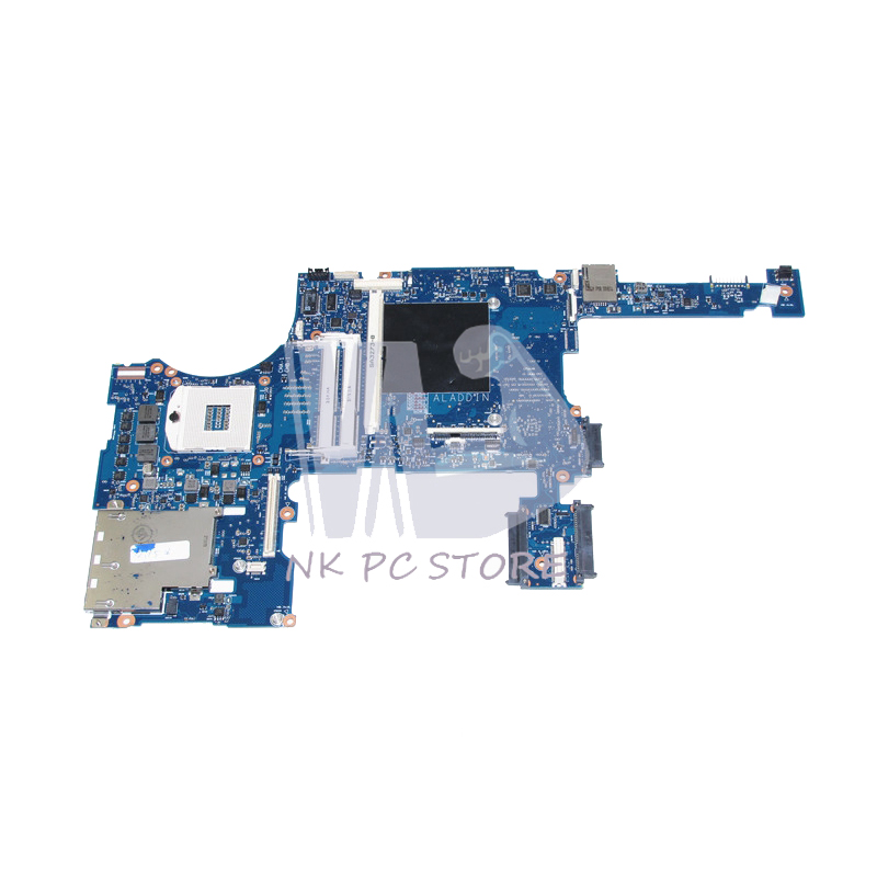 NOKOTION 688746-001 688746-601 Main Board For HP Elitebook 8770W Laptop Motherboard DDR3 SLJ8A with graphics slot nokotion zs051 la a996p 764262 501 764262 001 motherboard for hp 15 g series laptop main board cpu ddr3