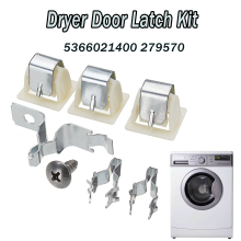 Дверная защелка для сушки, комплект для Электролюкс Frigidaire 5366021400 279570